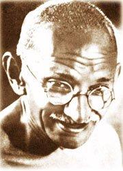 Mohandas Karamchand Gandhi [1869 - 1948 mahatma Gandhi