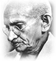 Mohandas Karamchand Gandhi [1869 - 1948] mahatma Gandhi