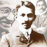 Mohandas Karamchand Gandhi [1869 - 1948] Gandhi jeune