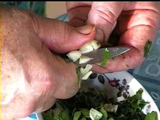 Cisqeler ail et  persil