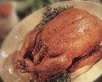 Canard troussé (remarquez qu'il n'est pas bridé)