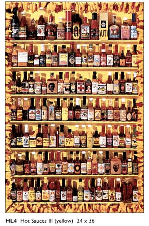 Hot sauces poster